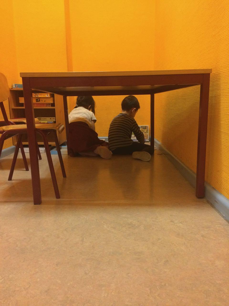 キタと小学校のクラス構成 / Gruppenstruktur der Kita und Schule