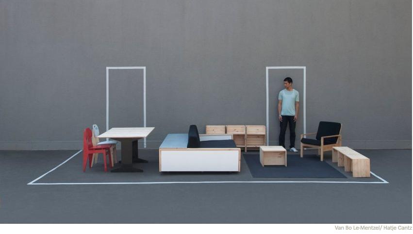 Le Van Bo – Herz IV Möbel / バン・ボー・ルの「ハルツ4家具」