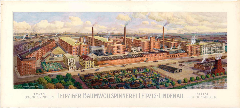 Spinnerei in Leipzig /ライプツィヒのシュピネライ