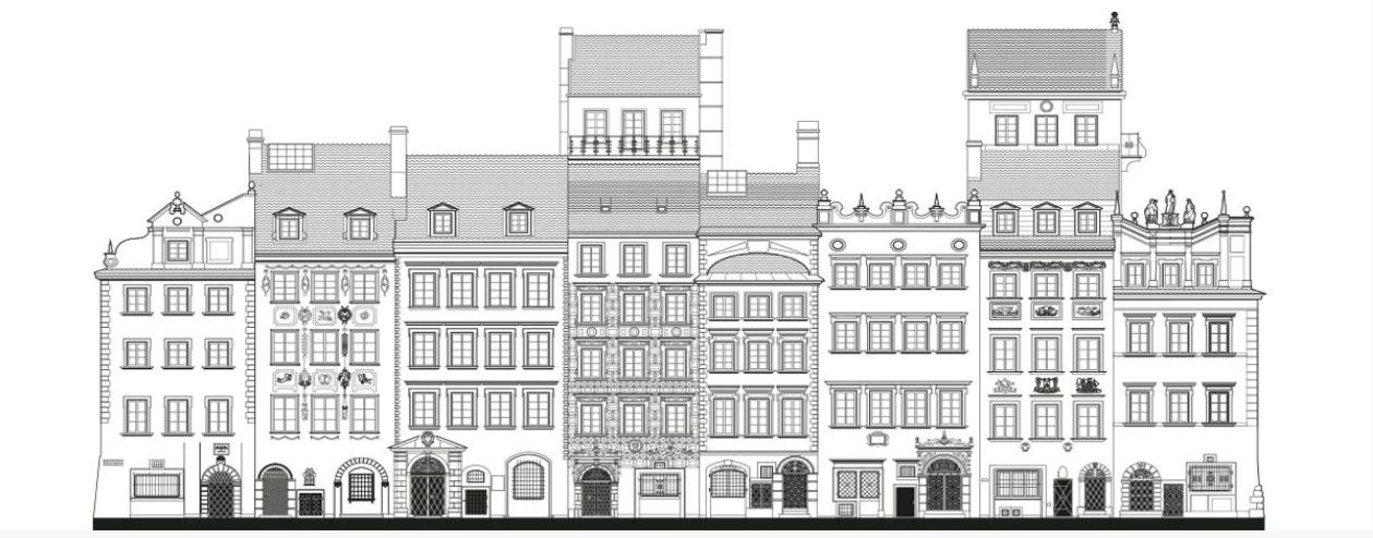 ワルシャワの旧市街 / Warszawa-2
