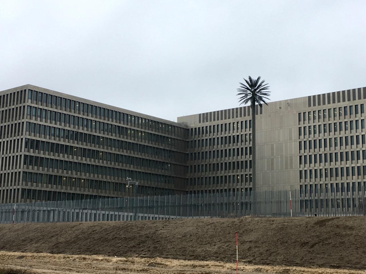 BND-Park Südpanke / 連邦情報局と緑地エリア
