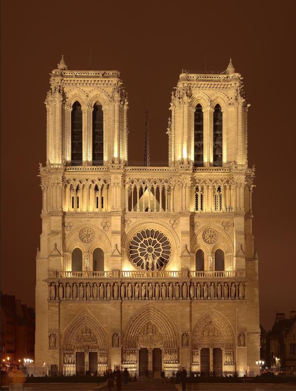 Incendie de Notre-Dame de Paris / ノートルダム大聖堂の火災