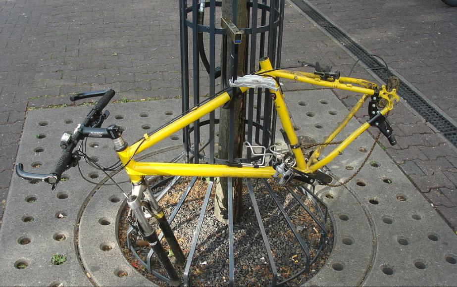 Fahrraddiebstahl / ベルリンの自転車盗難事情