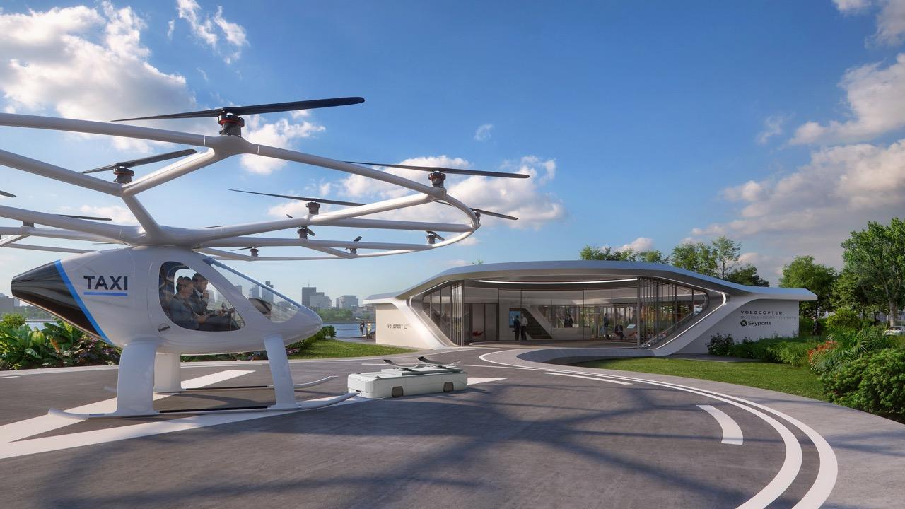 ドローンタクシー「ボロコプター」〜Volocopter〜