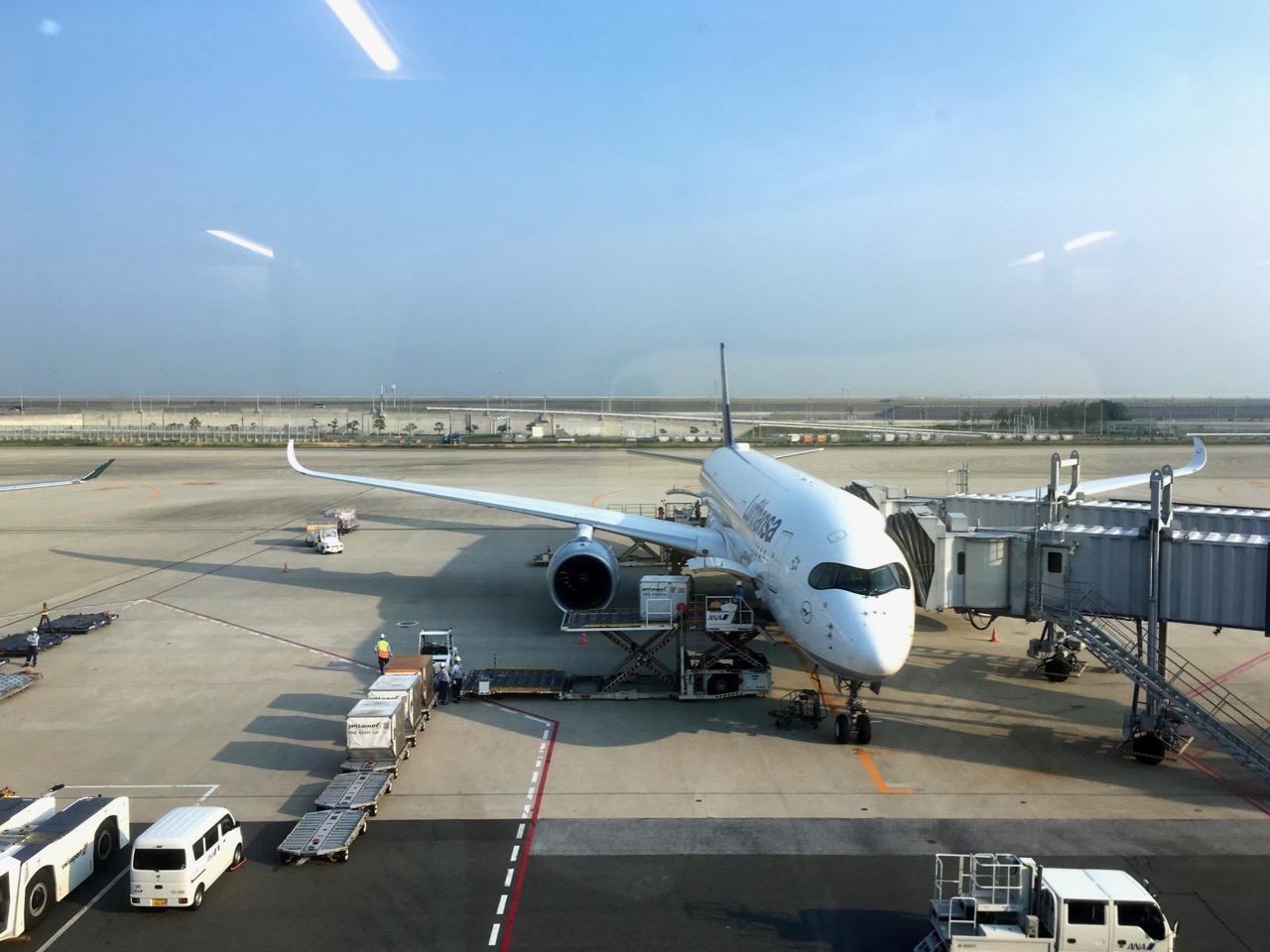LH Flug nach Japan / ルフトハンザで一時帰国