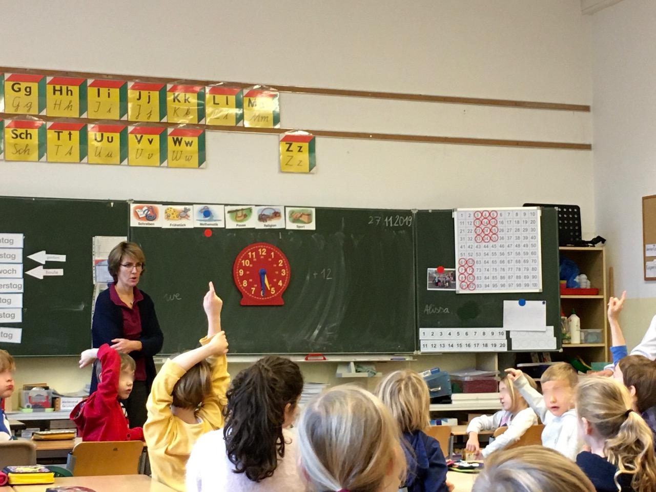 Hospitieren in der Grundschule / ドイツの小学校で授業参観4