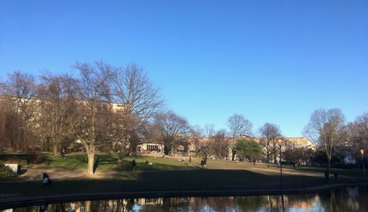 春の訪れと日光浴 〜Frühling und Sonnenbad im Park〜